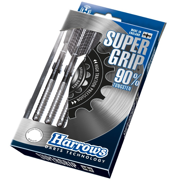 Harrows Šipky Steel Supergrip 90% 30gR