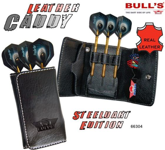 Pouzdro pro šipky Leather Caddy steel Bull´s 66304