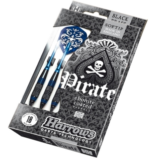 Harrows Šipky Pirate 18gK Blue