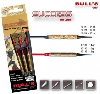 Bull´s Šipky Success Knurled Grip 14gr. 16144
