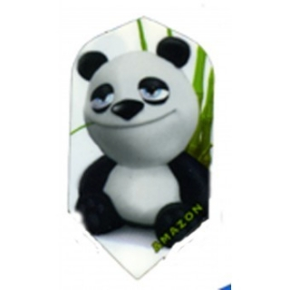 Letky Amazon Ruthless Cartoon panda Slim - úzké F1612