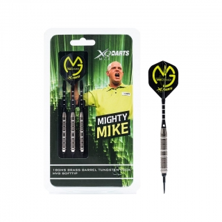 XQMax Šipky softové Michael van Gerwen 18gR. - Mighty Mike - Tungsten Look