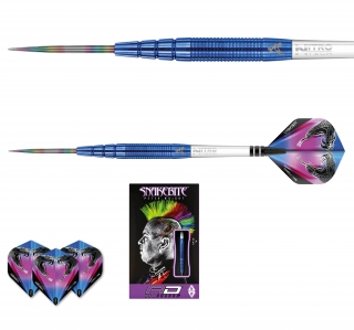 Šipky steel Peter Wright Snakebite PL15 24g blue Tungsten 90% RED DRAGON