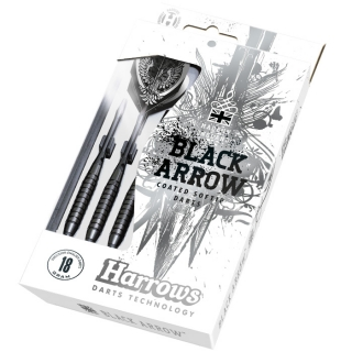 Harrows Šipky Black Arrow 18gR