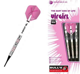 Bull´s Šipky Virgirl Slim-Shark Grip 18gr. 18518