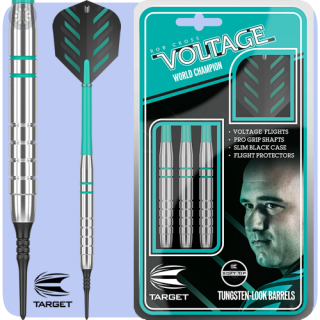 Šipky Target soft Rob Cross Silver Voltage 18g